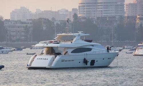Image of Ferretti 881 for sale in India for €2,490,000 (£2,137,247) Mumbai, India