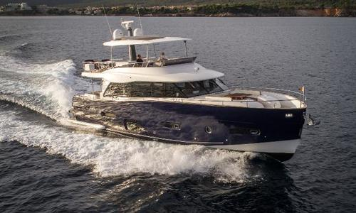 Image of Azimut Yachts Magellano 66 for sale in Spain for €1,775,000 (£1,543,774) Mallorca, Spain