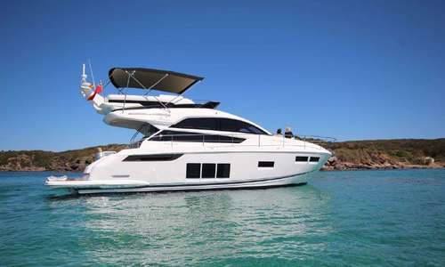 Image of Fairline Squadron 48 for sale in Spain for €489,950 (£422,149) Boats.co.uk, Cala d'Or, Mallorca, Spain