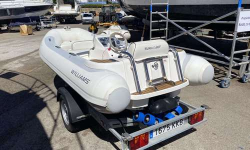 Image of Williams Turbojet 385 for sale in Spain for £9,950 Boats.co.uk, Cala d'Or, Mallorca, Spain
