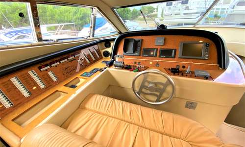 Image of Ferretti 590 for sale in Spain for £325,000 Cala d'Or, Mallorca, Spain