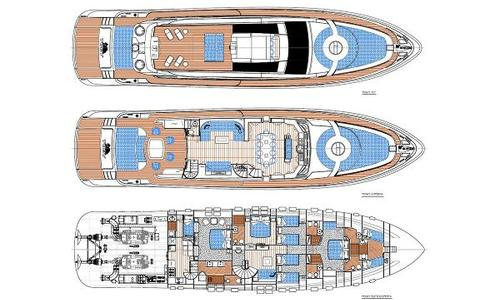 Image of Cerri Cantieri Navali 102 for sale in Italy for €2,490,000 (£2,149,238) Italy