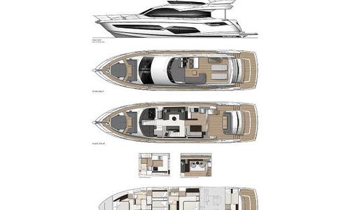 Image of Sunseeker Manhattan 68 for sale in United Kingdom for £1,922,000 Poole, United Kingdom