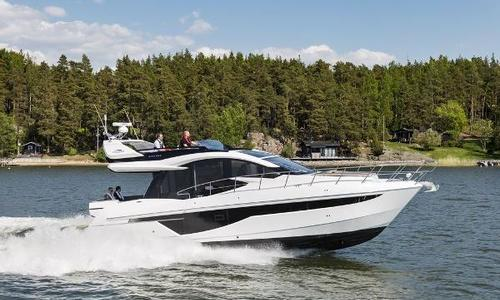 Image of Galeon 470 Skydeck for sale in United Kingdom for £680,050 Southampton, United Kingdom