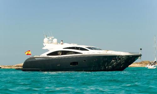 Image of Sunseeker Predator 84 for sale in Spain for €1,695,000 (£1,506,774) Murcia, Spain