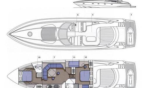 Image of Sunseeker Predator 68 for sale in Italy for €560,000 (£480,513) Bari, Italy