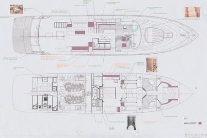 Fairline Squadron 78 Custom for sale in France for €1,490,000 (£1,278,926)