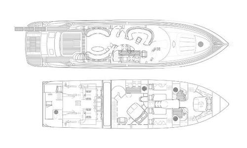 Image of Sunseeker Manhattan 74 for sale in France for €590,000 (£512,843) St-Jean-Cap-Ferrat, France