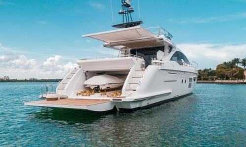 Image of Azimut Yachts 77 S for sale in United States of America for $2,890,000 (£2,165,216) Miami, FL, United States of America