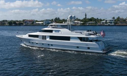 Image of Westport Raised Pilothouse for sale in United States of America for $10,849,000 (£7,671,204) Fort Lauderdale, FL, United States of America