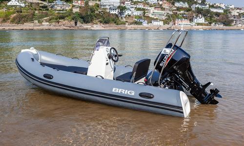 Image of Brig Falcon Rider 420HL Salcombe Edition for sale in United Kingdom for £18,950 Kingsbridge, United Kingdom