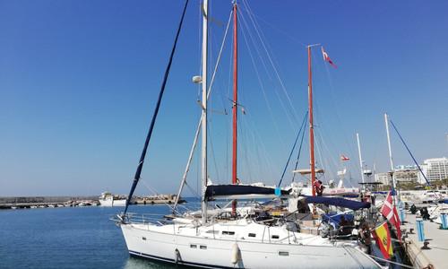 Image of Beneteau Oceanis 423 for sale in Spain for €99,000 (£87,982) Cádiz, , Spain