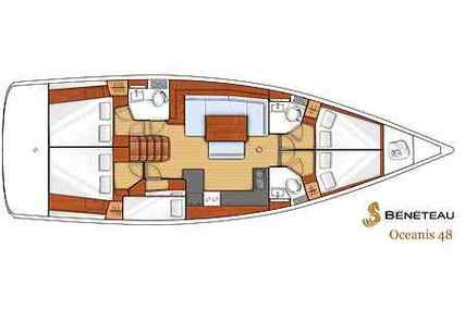 Beneteau Oceanis 48 for charter in Italy (West Coast) from €2,583 / week