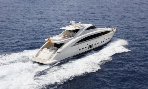 Image of PerMare Amer 116 S for sale in Spain for €7,700,000 (£6,631,871) Barcelona, Spain