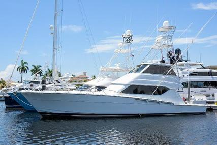 Hatteras 60 enclosed bridge for sale in United States of America for $799,000 (£577,508)