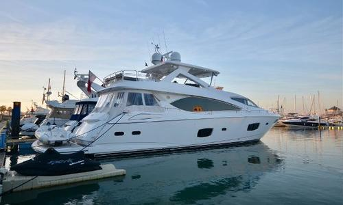 Image of Sunseeker Flybridge Motor Yacht for sale in Portugal for €2,900,000 (£2,500,431) Vilamoura, Portugal