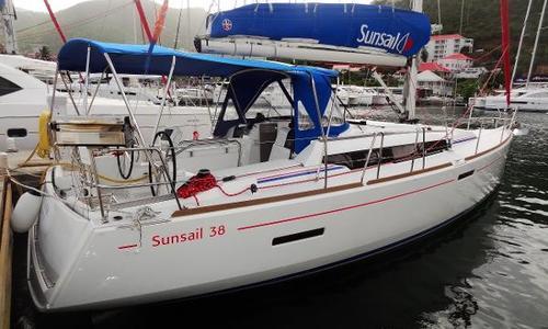 Image of Jeanneau Sun Odyssey 389 for sale in British Virgin Islands for $165,000 (£118,334) Tortola, British Virgin Islands