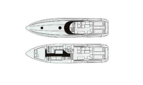 Image of Sunseeker Apache 45 for sale in Spain for €79,500 (£68,241) Eivissa-San Juan, Spain