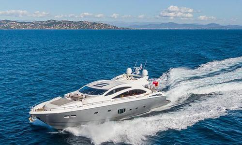 Image of Sunseeker Predator 84 for sale in Spain for €1,595,000 (£1,381,874) Valencia, Spain