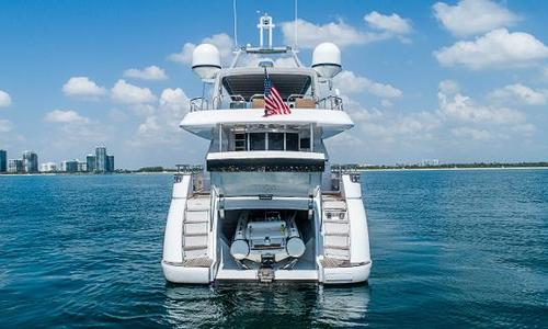 Image of Azimut Yachts 85 Ultimate for sale in United States of America for $895,000 (£657,692) Miami, FL, United States of America