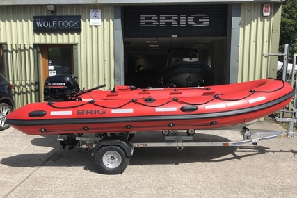 Brig Falcon 450HS Safety Series - NEW - ORCA Hypalon for sale in United Kingdom for £9,995