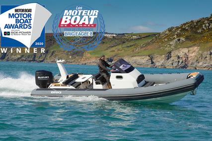 Brig Eagle 8 - 2020 MULTI AWARD WINNER - ORCA Hypalon for sale in United Kingdom for £84,995