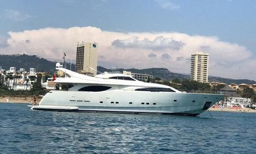 Image of Ferretti 94 Custom Line for sale in Spain for £1,295,000 Málaga, Spain