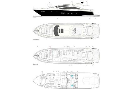 Sunseeker Predator 84 for sale in France for €2,150,000 (£1,869,923)