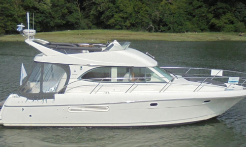 Image of Jeanneau Prestige 36 for sale in United Kingdom for £129,950 soon to be with us at the Hamble River B, United Kingdom