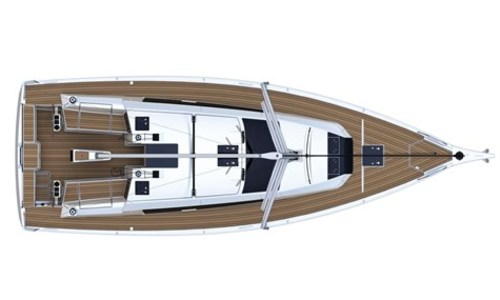 Image of Dufour Yachts 390 Grand Large for sale in Italy for €153,244 (£132,272) Sardegna, Italy