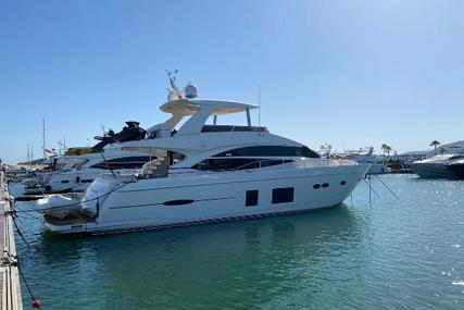 Princess 72 for sale in France for €1,690,000 (£1,505,420)