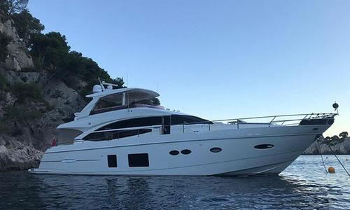 Image of Princess 72 for sale in France for €1,690,000 (£1,450,656) La Napoule, France