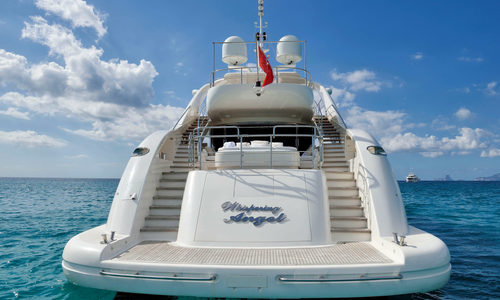 Image of ISA 120 M/Y Whispering Angel for sale in Netherlands for €5,500,000 (£4,714,434) Netherlands