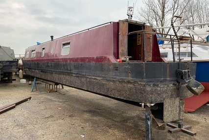 Springer Narrow Boat 40FT (Project Boat - Submerged) for sale in United Kingdom for £9,950