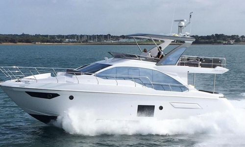 Image of Azimut Yachts 50 Flybridge for sale in United Kingdom for £995,000 Hamble River Boat Yard, United Kingdom