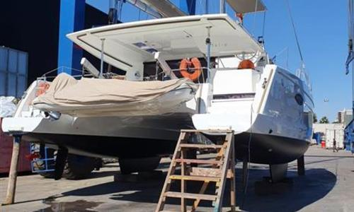Image of Fountaine Pajot Helia 44 for sale in Spain for €395,000 (£336,042) Cartagena, Spain