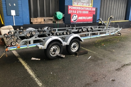 Rapide 3500kg braked roller trailer for sale in United Kingdom for £3,300