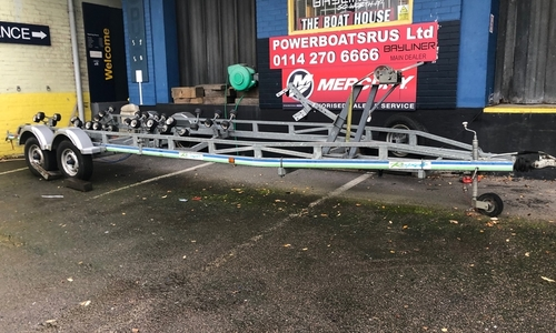 Image of Rapide 3500kg braked roller trailer for sale in United Kingdom for £3,300 North East, United Kingdom