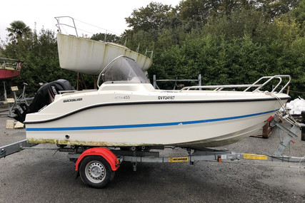 Quicksilver 455 Activ Open for sale in France for €12,800 (£11,097)