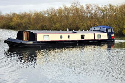 Wide Beam Narrowboat Aqualine Canterbury 65 x 12 for sale in United Kingdom for £144,500