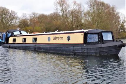 Wide Beam Narrowboat Collingwood 60 x 10 Baby Eurocruiser for sale in United Kingdom for £112,500
