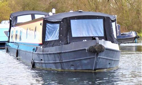 Image of Wide Beam Narrowboat Collingwood 60 x 10 Baby Eurocruiser for sale in United Kingdom for £112,500 Henley-on-Thames, United Kingdom