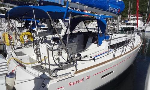 Image of Jeanneau Sun Odyssey 389 for sale in British Virgin Islands for $189,000 (£135,546) Tortola, British Virgin Islands