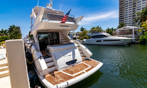 Image of Sunseeker Manhattan for sale in United States of America for $1,375,000 (£991,427) Fort Lauderdale, Florida, United States of America