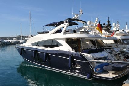 Sunseeker Manhattan 73 for sale in Spain for $1,513,179 (£1,093,851)