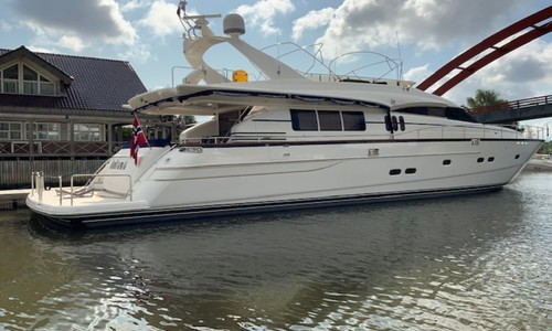 Image of Princess 25 for sale in Norway for £849,950 Fredrikstad, Norway