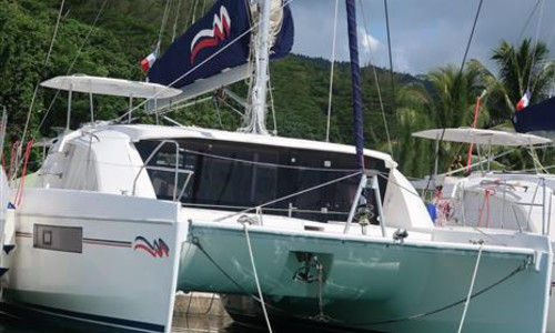 Image of Leopard 40 for sale in French Polynesia for €289,000 (£249,450) Raiatea, French Polynesia