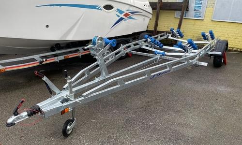 Image of Excel Boats 1800kg roller trailer for sale in United Kingdom for £3,399 North East, United Kingdom