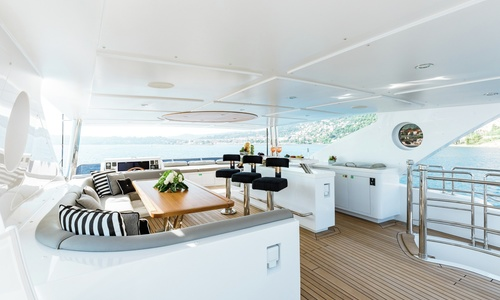 Image of Gulf Craft Majesty 125 for sale in Spain for €10,950,000 (£9,466,259) Barcelona,, Spain