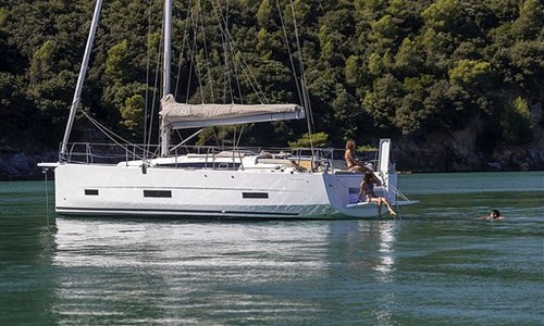 Image of Dufour Yachts 390 Grand Large for sale in Italy for €168,000 (£144,853) Marina di Portisco, Sardegna, Italy